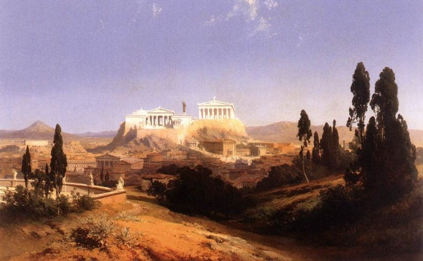 Ateny historia