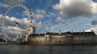 London Eye. Londyn