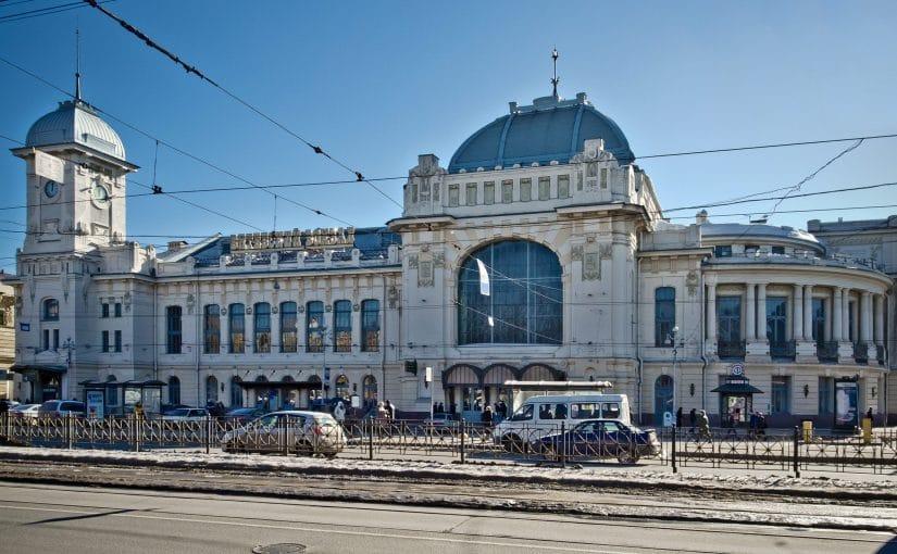 St. Petersburg, dworzec Witebsky