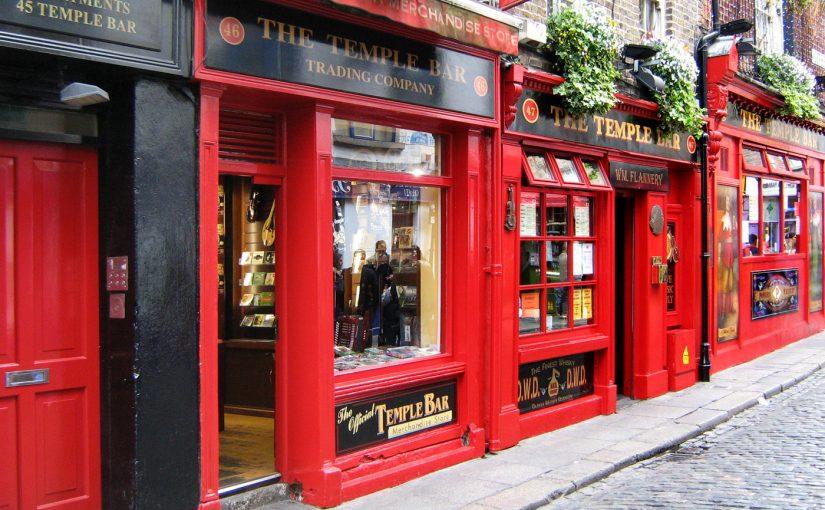 Puby i bary w Dublinie