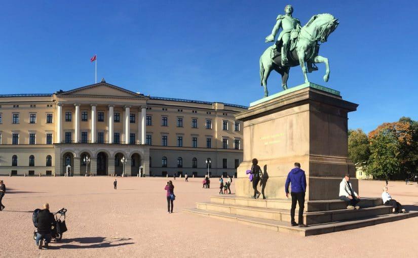 pałac królewski oslo