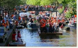Dzień Królowej Amsterdam