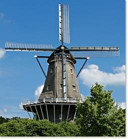 Wiatraki i młyny Amsterdamu