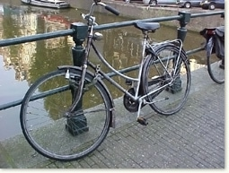 rowerem po Amsterdamie
