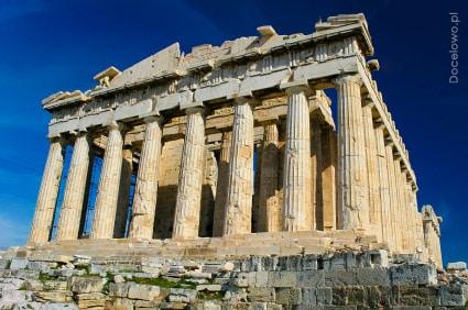 Partenon - zabytki - Ateny