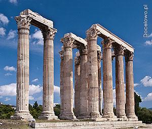 Ateny, zabytki, Świątynia Zeusa Olimpijskiego