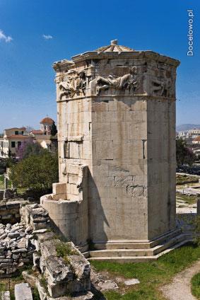 Zabytki Aten - Wieża Wiatrów
