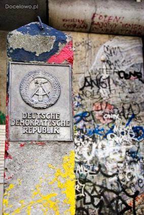Mur berliński - zabytki Berlina