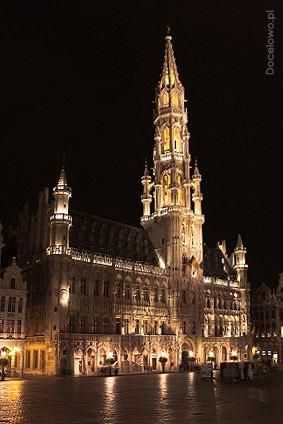Grand Palace w Brukseli