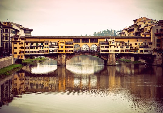 Most Złotników - Florencja