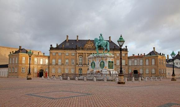 Amalienborg Kopenhaga