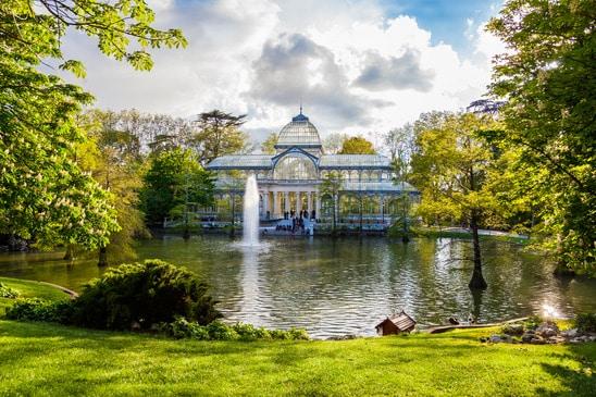 Pałac kryształowy - Parque del Buen Retiro