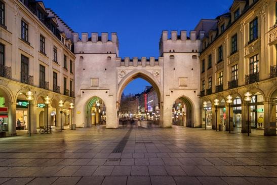Karlstor - brama - Monachium