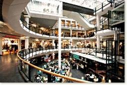 Oslo city shopping centre