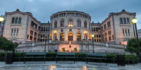 Pałac Królewski Stortinget - Oslo