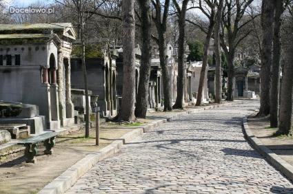 Cemntarz Pere Lachaise - pochowny Fryderyk Chopin - Paryż