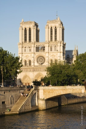 Paryż - zabytki - katedra Notre Dame