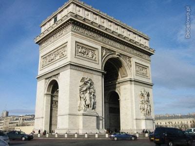 Łuk Triumfalny - co warto zwiedzić w Paryżu