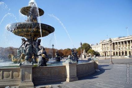 Plac Zgody w Paryżu