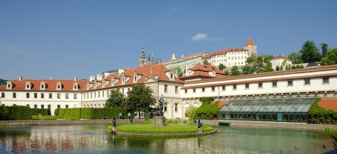 Ogród botaniczny w Pradze