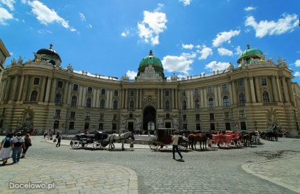Hofsburg - rezydencja Habsburgów - Wiedeń - zabytki