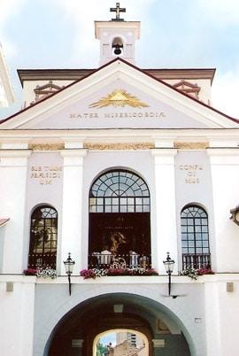 Ostra Brama w Wilnie - zabytek